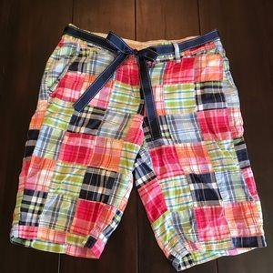 L. L. Bean Madras Shorts